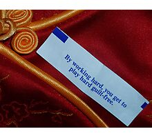 04-03-11:  Good Fortune Photographic Print