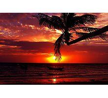Sairee Sunset Photographic Print