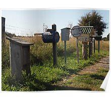Podium Mail Box Poster