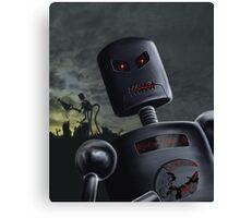 Demon Bots Canvas Print