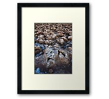 Devil's Golf Course.  Framed Print