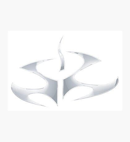 Hitman - Chrome Emblem Photographic Print