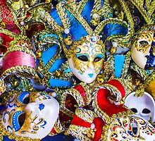 Venetian carnival masks by Bruno Beach