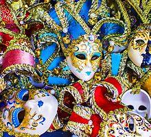 Venetian carnival masks by Bruno Beach