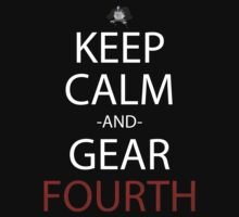 one piece keep calm and gear fourth anime manga shirt by ToDum2Lov3