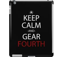 one piece keep calm and gear fourth anime manga shirt iPad Case/Skin