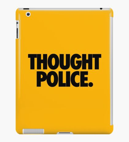THOUGHT POLICE. iPad Case/Skin