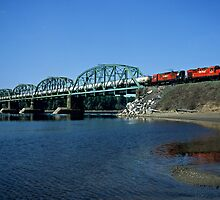 Crossing the Miramichi River by Shawn Duren