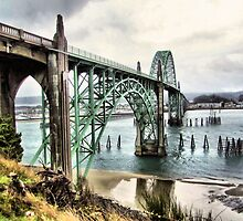 Newport Bridge by jeanniechris