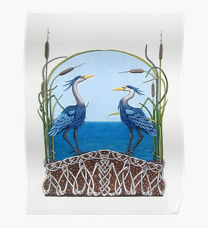Herons Renewal Poster