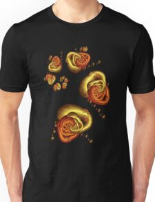 Journey to the Center - Gold Unisex T-Shirt
