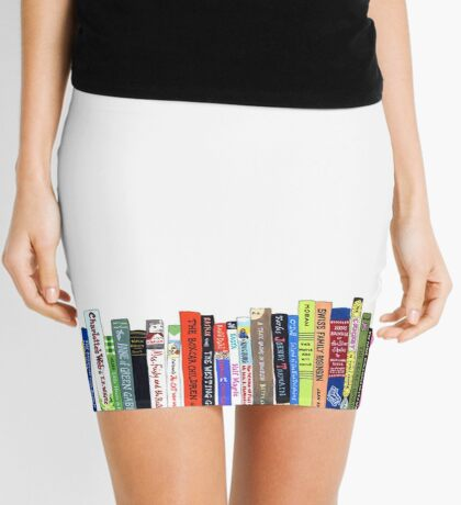 BOOKS Mini Skirt