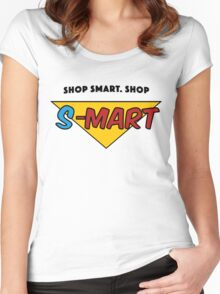 Shop Smart. Women's Fitted Scoop T-Shirt