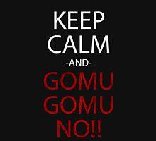 one piece keep calm and gomu gomu no anime manga shirt T-Shirt