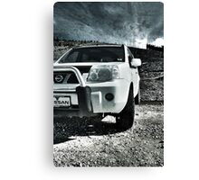 X-trail in Wasteland HDR Canvas Print