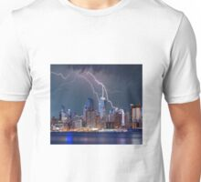 Storm over New York Unisex T-Shirt