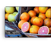 Fruit Festival Canvas Print