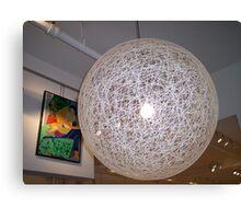 White lamp Canvas Print