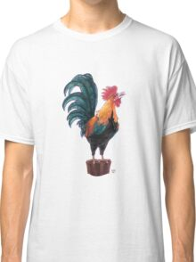 Rooster Silhouette Classic T-Shirt