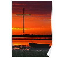 Easter Sunset Poster