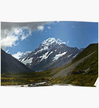 Mt Cook New Zealand Poster