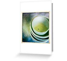 White Series 10 Greeting Card