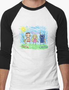 Chappie Family Men's Baseball ¾ T-Shirt