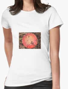 Toadstool Womens Fitted T-Shirt