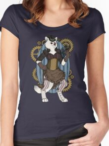 The Elegant Wolf Women's Fitted Scoop T-Shirt