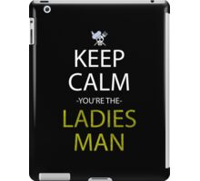 one piece keep calm you're the ladies man anime manga shirt iPad Case/Skin