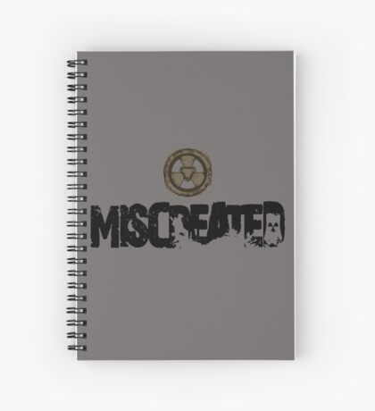 Miscreated  Design 1 Grey (Official) Spiral Notebook