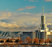 Mount Timpanogos Temple - Panorama by Ryan Houston