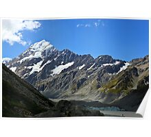 Mt Cook Summit Poster
