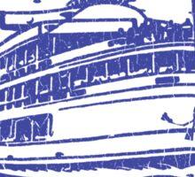 Boblo Island, Detroit MI (vintage distressed look) Sticker