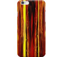 Yellow Light Abstract Forest iPhone Case/Skin