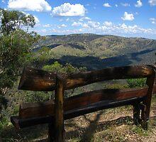 Merlin's Lookout - Hill End by Marilyn Harris