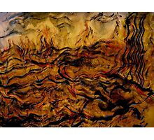 ceasing to exist.... ancient tremors, giant waves Photographic Print