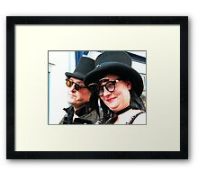 The Fab Hatters Framed Print