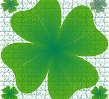 Clover puzzle by Laschon Robert Paul