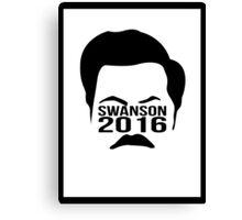 Swanson 2016 Canvas Print