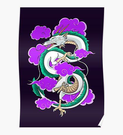 Haku Clouds Poster