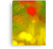 Abstract Garden Canvas Print