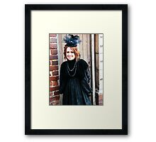 By the Door Framed Print