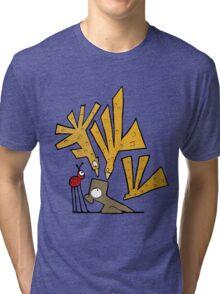 Bird Attack! Tri-blend T-Shirt