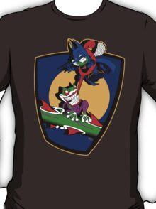 Gnatman vs The Croaker T-Shirt