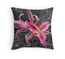 Lily the Pink Throw Pillow