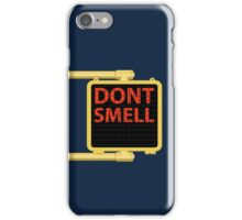 New York Crosswalk Sign Don't Smell iPhone Case/Skin