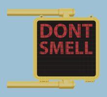 New York Crosswalk Sign Don't Smell Kids Tee