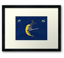 Krill Bill Samurai Crustacean Framed Print