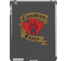 Canadian Furry iPad Case/Skin